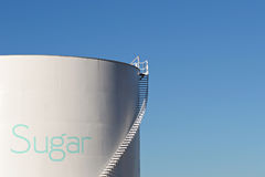 Sugar silo Royalty Free Stock Images