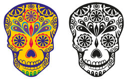 Sugar skull Royalty Free Stock Photography
