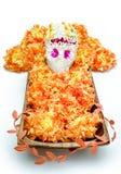 Sugar skull altar for 'Dia de los Muertos' Royalty Free Stock Photos