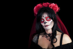 Sugar Skull Beauty Photo libre de droits