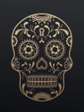Sugar Skull dag av dödaen vektor illustrationer