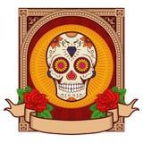 Sugar skull Royalty Free Stock Image
