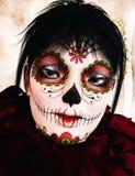 Sugar Skull Girl Royalty Free Stock Image