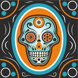 Sugar Skull Illustration Royalty Free Stock Photos