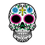 Sugar Skull. Illustration of Sugar Skull in hand drawn style Royalty Free Stock Photography