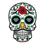 Sugar Skull. Illustration of Sugar Skull in hand drawn style Royalty Free Stock Photography