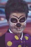 Sugar Skull Makeup Royalty Free Stock Photo