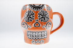 Sugar Skull Mug Photo libre de droits