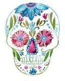 Sugar skull painting Royalty Free Stock Photo