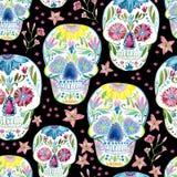 Sugar skull painting Stock Images