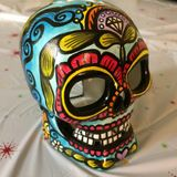 Sugar skull Stock Image