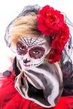 Sugar Skull sensuale immagine stock libera da diritti