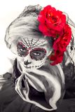 Sugar Skull sensuale immagine stock