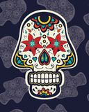 Sugar skull Royalty Free Stock Photo