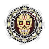 Sugar skull tattoo design Stock Photos