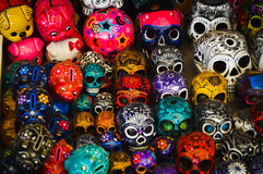Sugar skull Stock Photos