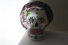 Shadow skull royalty free stock photo