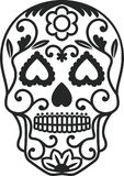Sugar Skull. The Sugar Skull is vector illustration Stock Photo