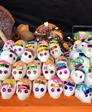 Sugar skulls Stock Photography