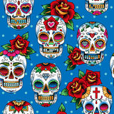 Sugar skulls Stock Photos