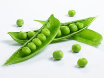 Sugar Snap Pea Pod Royalty Free Stock Image