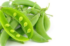 Sugar snap peas Stock Photography