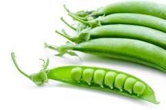Sugar snaps peas. Royalty Free Stock Photo
