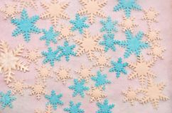 Sugar Snowflakes Photos stock