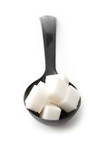 Sugar in a spoon Stock Photography