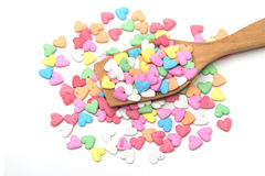 Sugar sprinkle stock images
