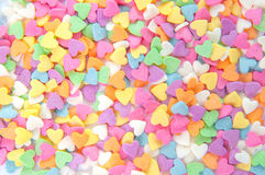 Sugar sprinkle dots, decoration for cake and bakery royalty free stock photo