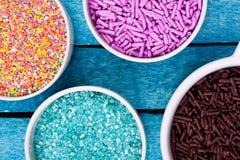 Sugar sprinkles Royalty Free Stock Image