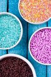 Sugar sprinkles Stock Photos