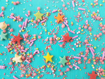 Sugar sprinkles Stock Photo