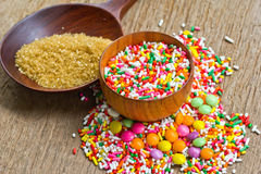 Sugar sprinkles Royalty Free Stock Photography