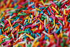 Sugar sprinkles Royalty Free Stock Photo
