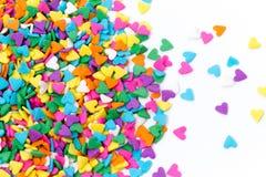 Sugar Sprinkles Hard Shape Royalty Free Stock Photos