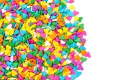 Sugar Sprinkles Hard Shape Stock Image