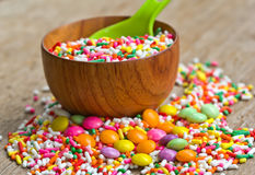 Sugar sprinkles Stock Image