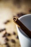 Sugar Stick Cinnamon Fotos de archivo libres de regalías