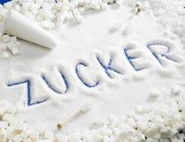 Sugar still life Stock Photography