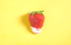 Sugar strawberry Stock Photos