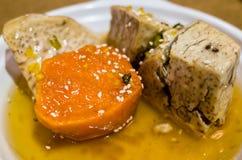 Sugar sweet potato and taro Royalty Free Stock Images