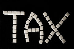 Sugar Tax Fotografie Stock