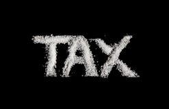 Sugar Tax Stock Image