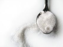 Sugar teaspoon Stock Photos