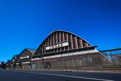 Sugar Terminal Storage Silos  Royalty Free Stock Photography