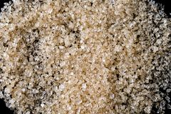 Sugar texture background.Components of The food is sweet delicious. Brown sugar texture background.Components of The food is sweet delicious royalty free stock photos