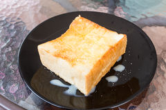 Sugar Toast lizenzfreie stockfotografie