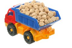 Sugar in the truck Stock Images